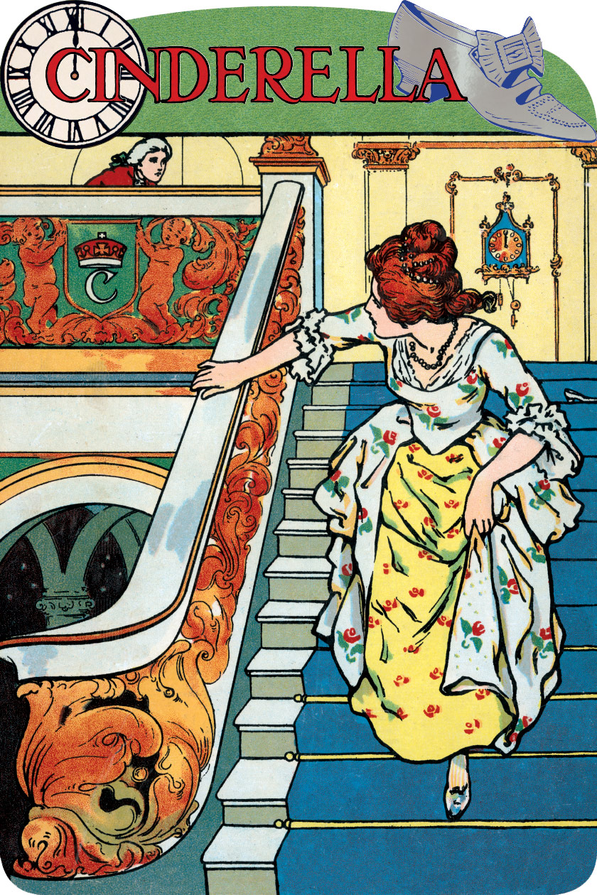 """""""Cinderella"""" illustrated by John Hassell"""