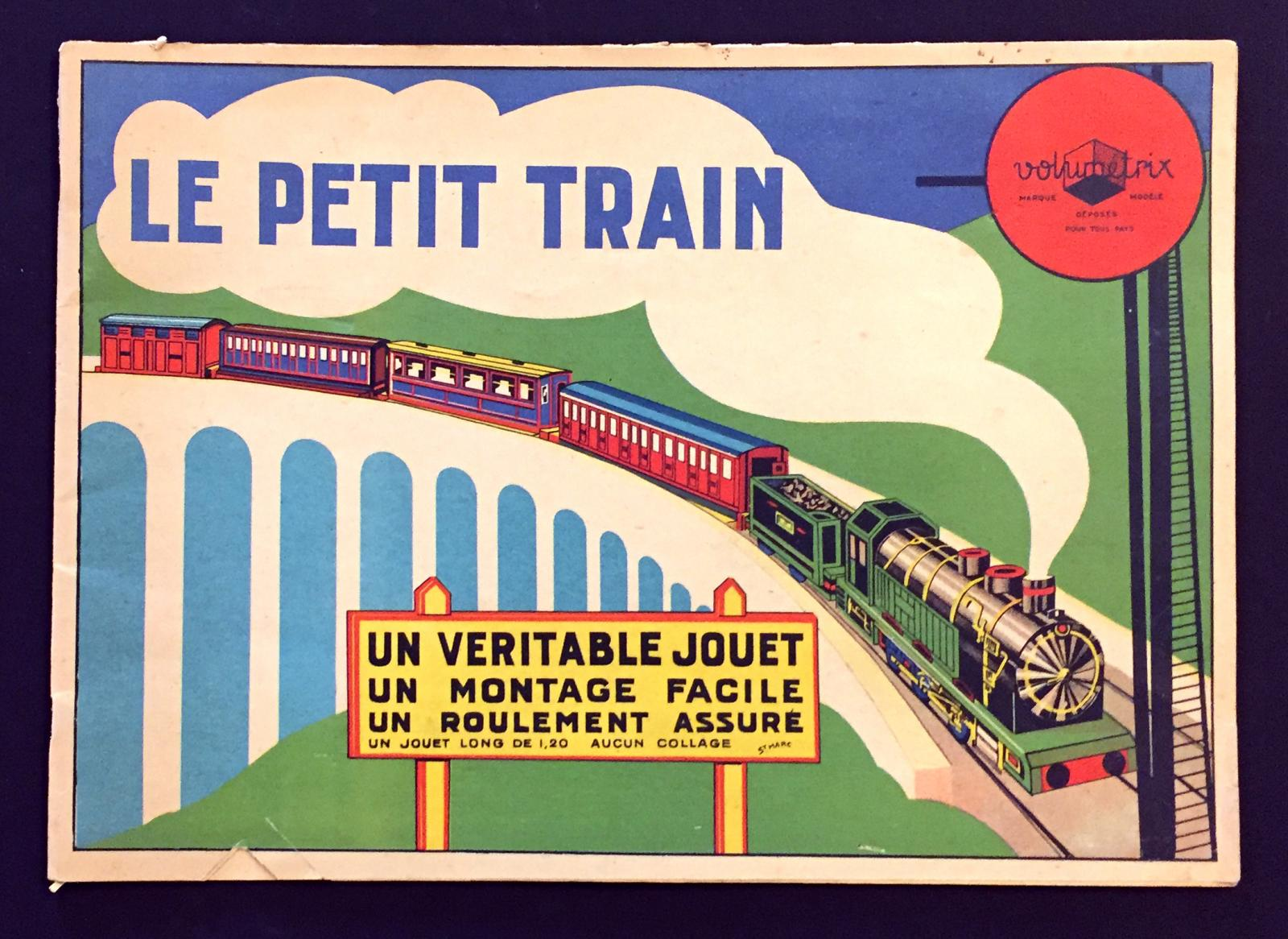 """Le Petit Train"" construction book"