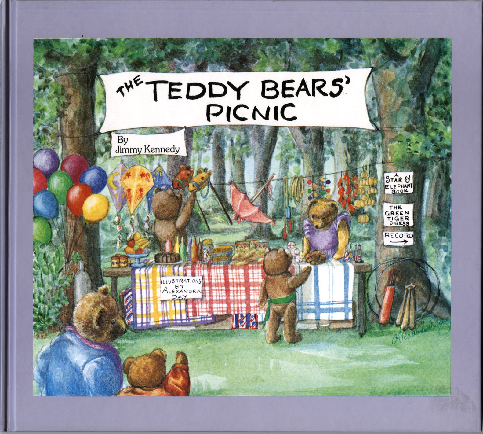 """The Teddy Bears' Picnic"" Cover by Alexandra Day"