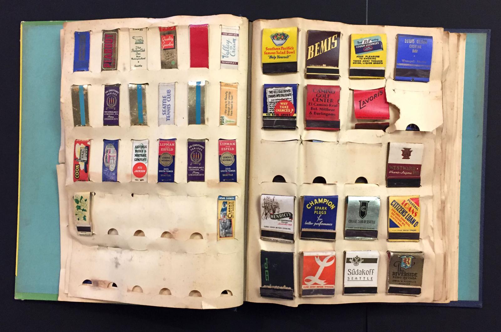 A Collector's Album of Matchbooks