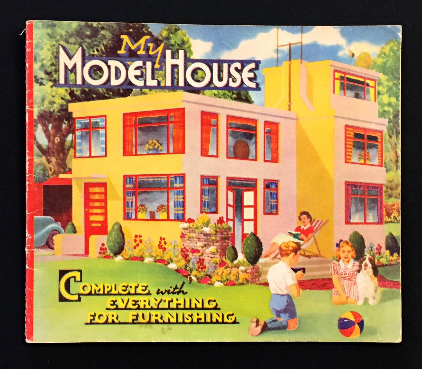 "Cover of ""My Model House"" book"