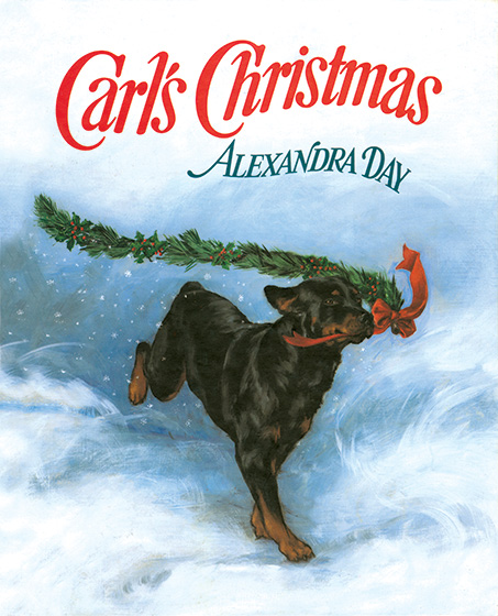 "Cover of ""Carl's Christmas"" by Alexandra Day Buy the book >"