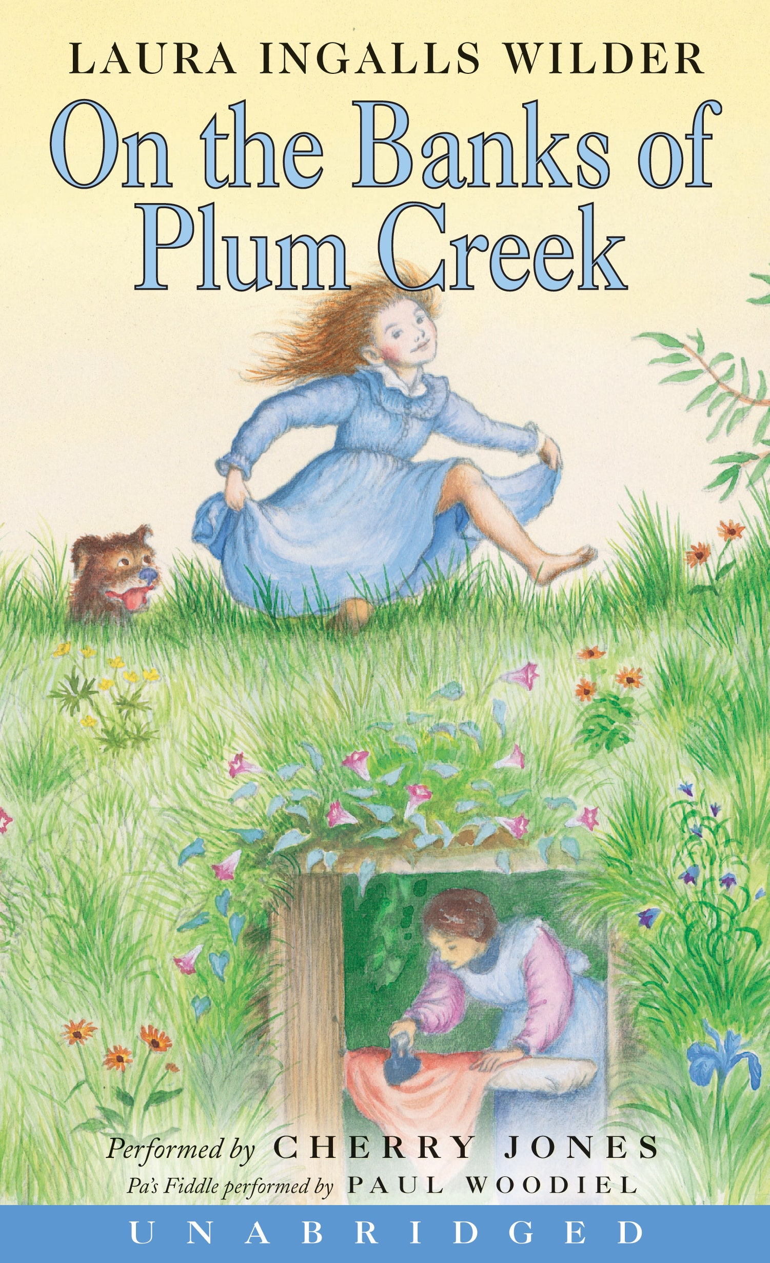 On the Banks of Plum Creek, cover by Garth Williams