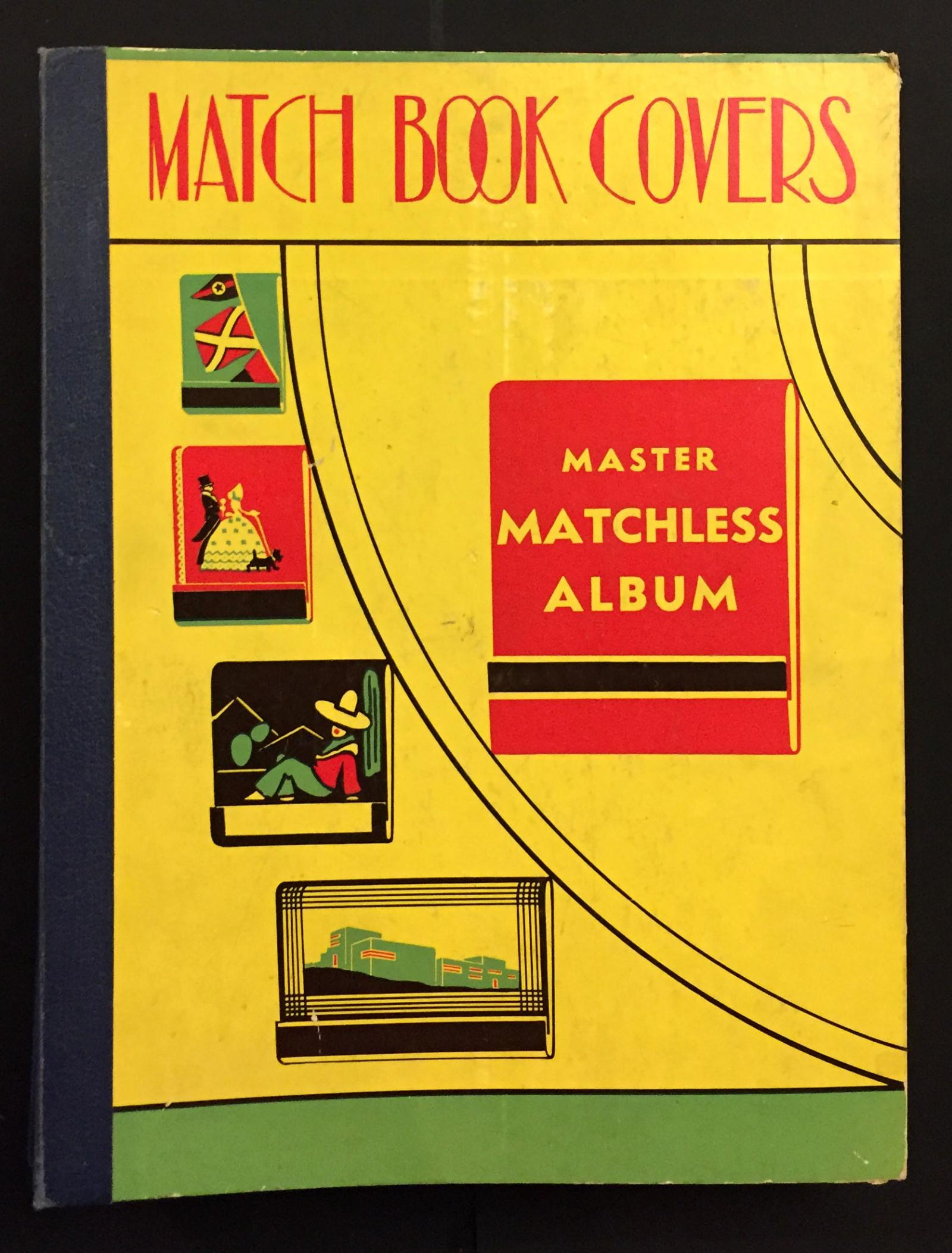 The cover of an Album for Matchbook Collectors