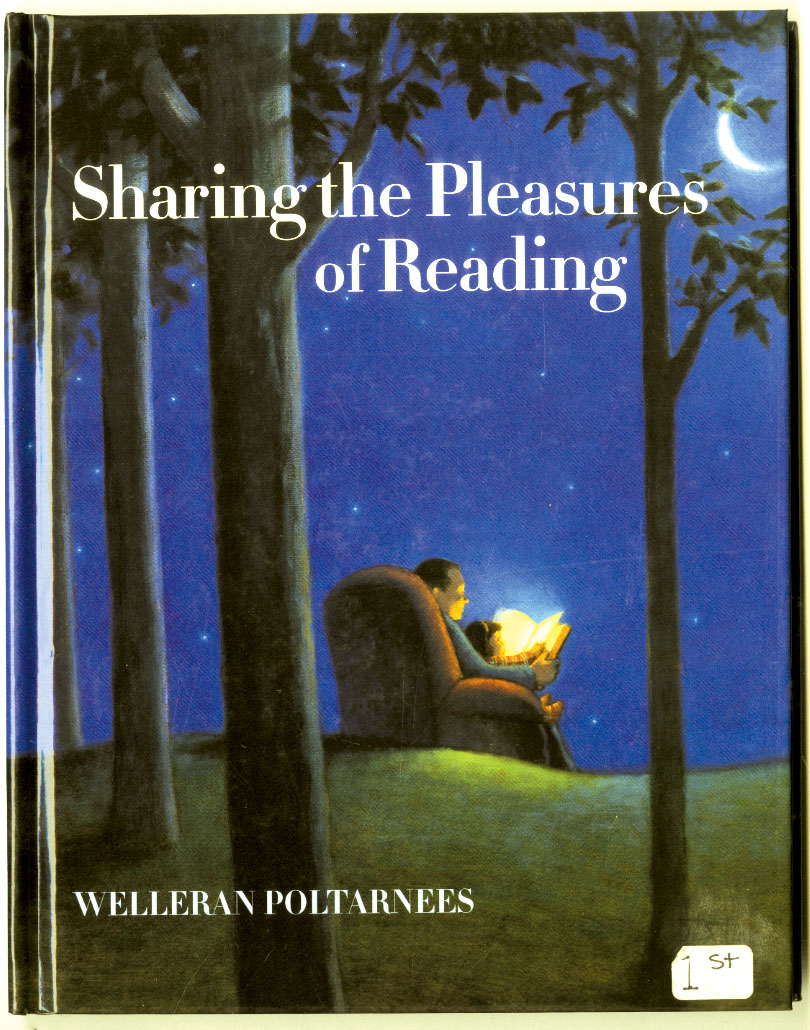 """Sharing the Pleasures of Reading,"" (2000) by Harold Darling (Welleran Poltarnees)"