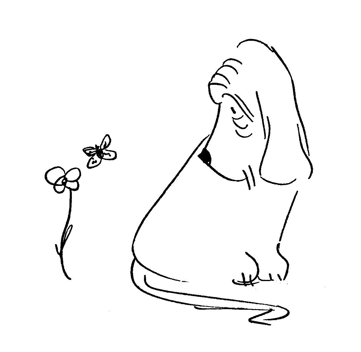 James Thurber dog
