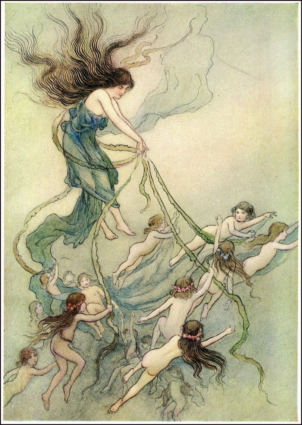 Book Illustration by Warwick Goble