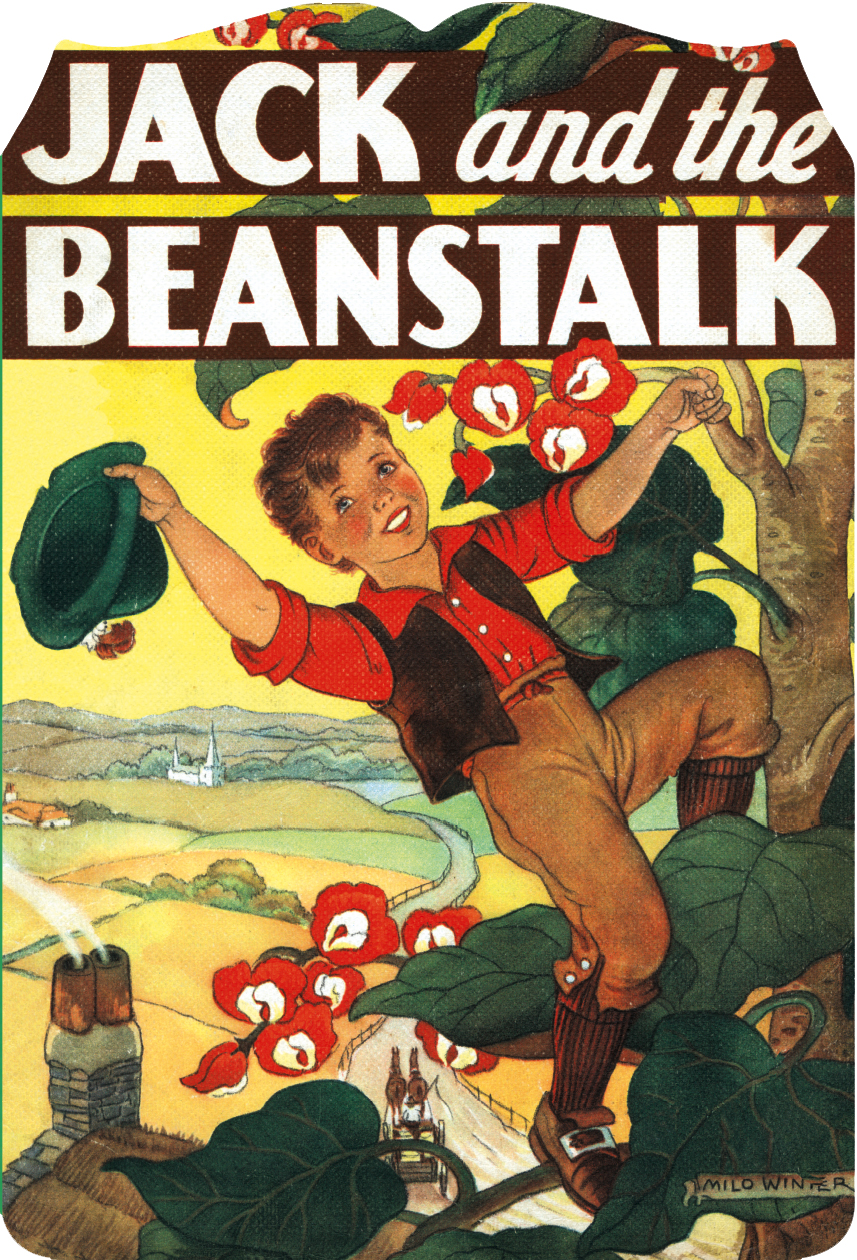 Cover for Jack and the Beanstalk by Milo Winter