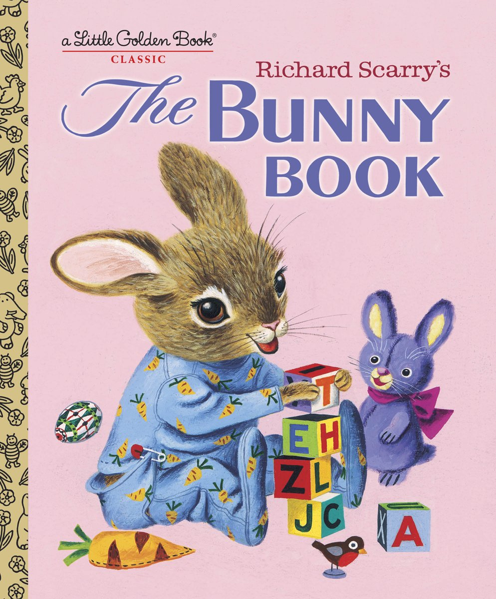'The Bunny Book' by Richard Scarry