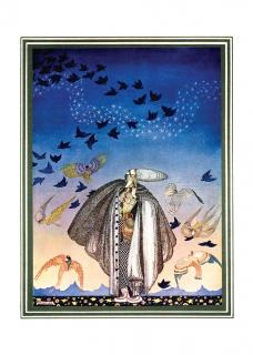 Calling the Birds (Celebration Greeting Cards)