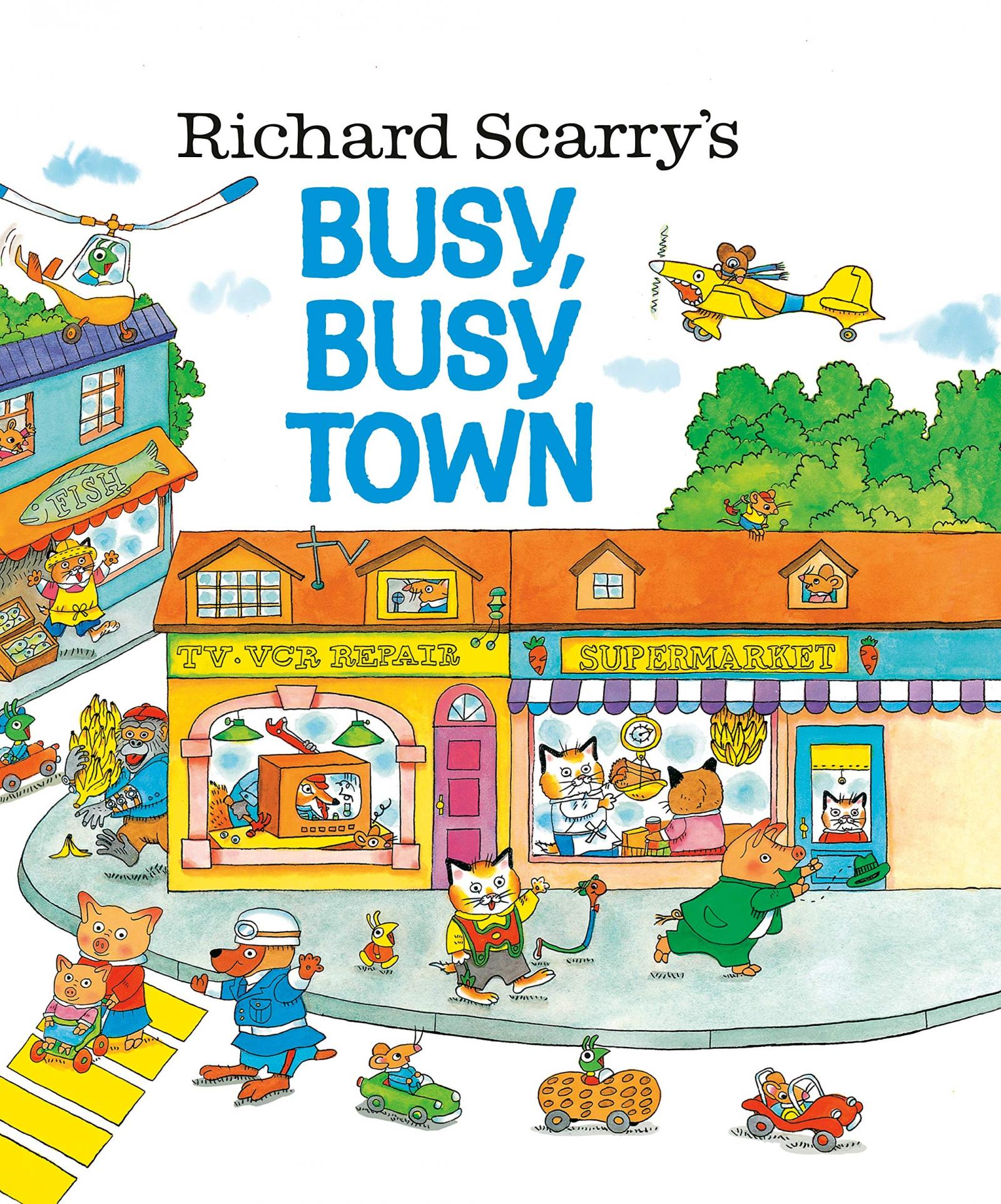 'Busy, Busy Town' by Richard Scarry