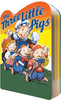 The Three Little Pigs (Shaped Children's Books)
