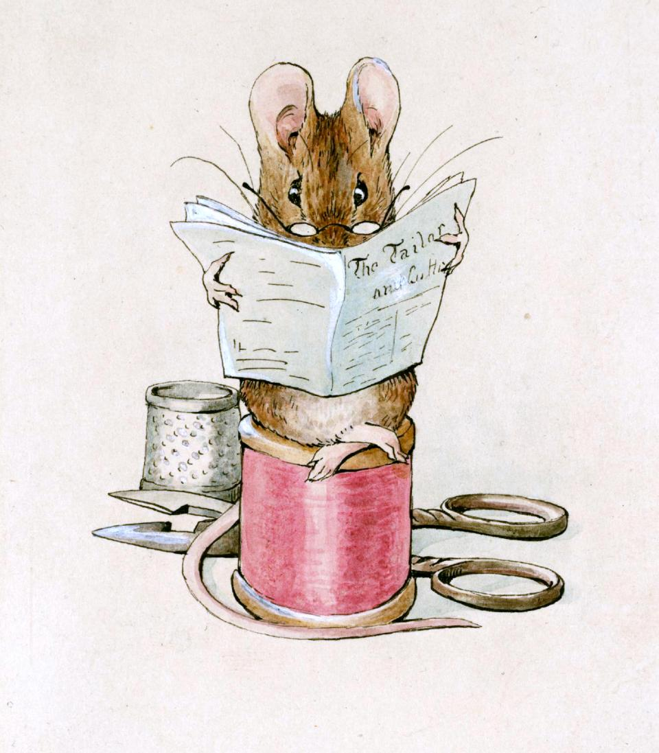 Painting by Beatrix Potter