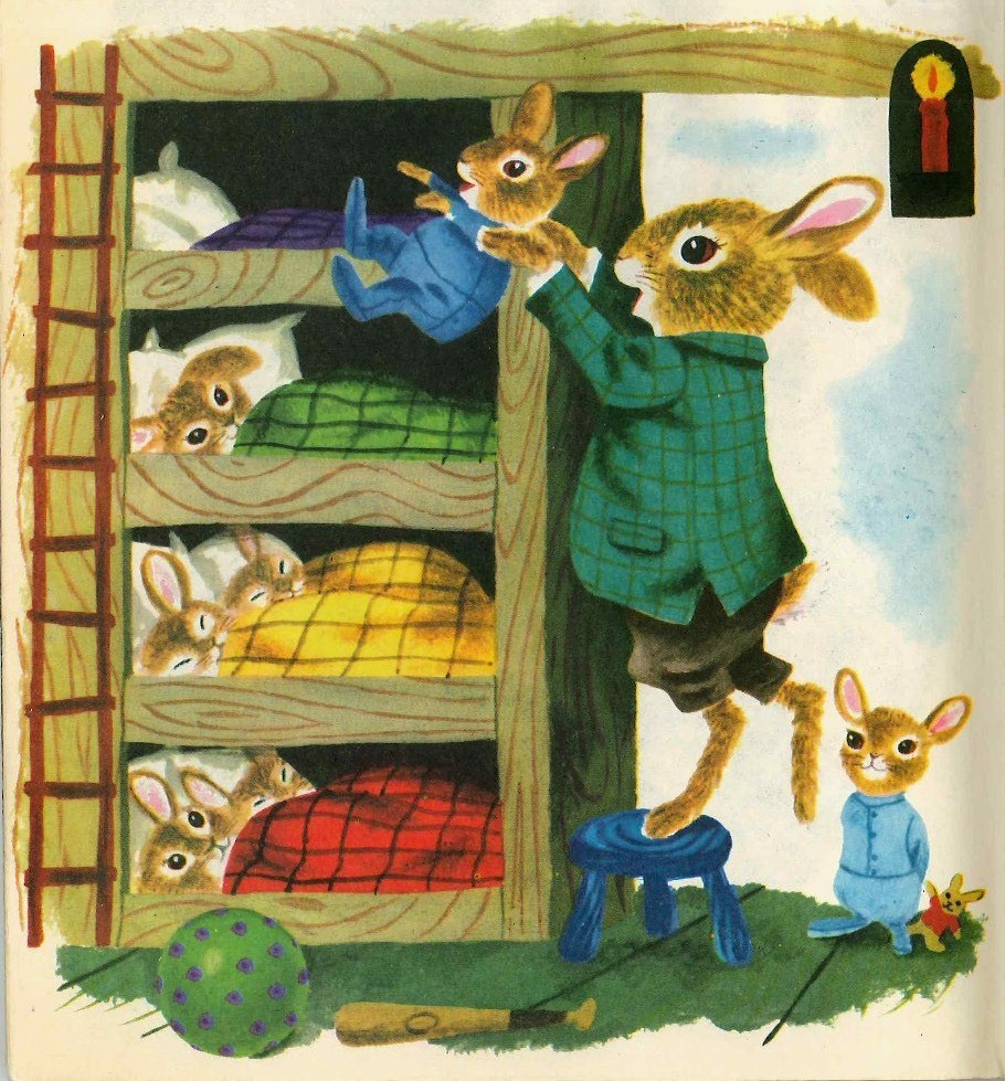 From 'The Bunny Book' by Richard Scarry