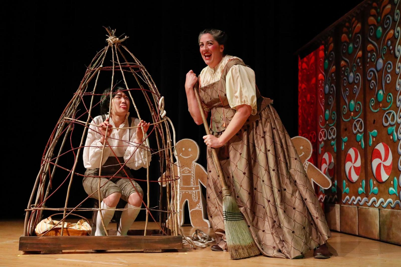 """Scene from the opera, """"Hansel and Gretel"""""""