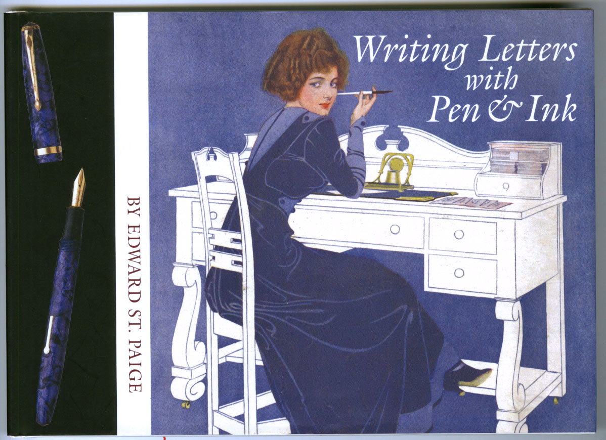 """Writing Letters with Pen & Ink"" (2003) by Harold Darling"