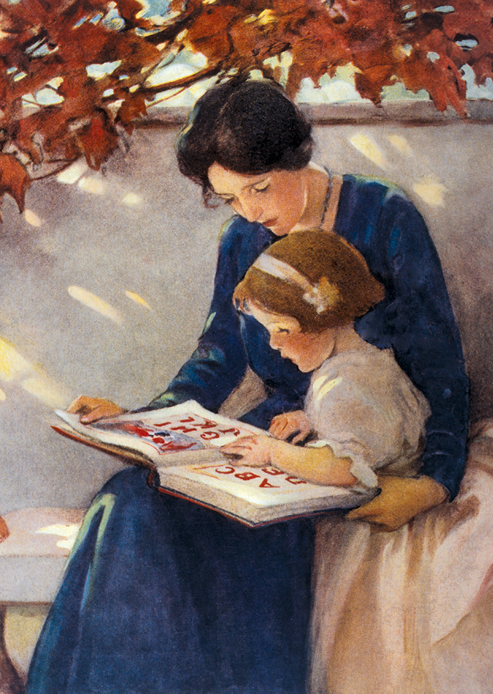 Illustration by Jessie Willcox Smith