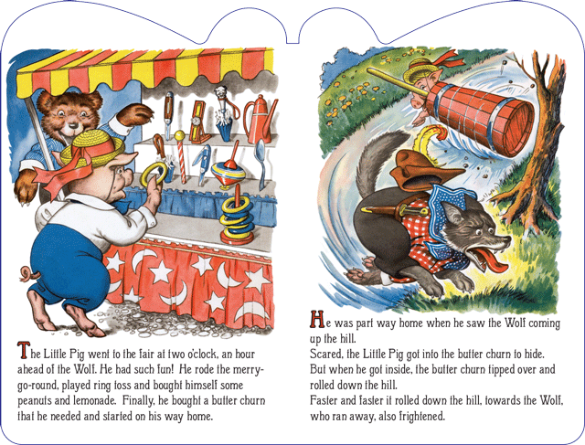 The Three Little Pigs, illustrated by Milo Winter