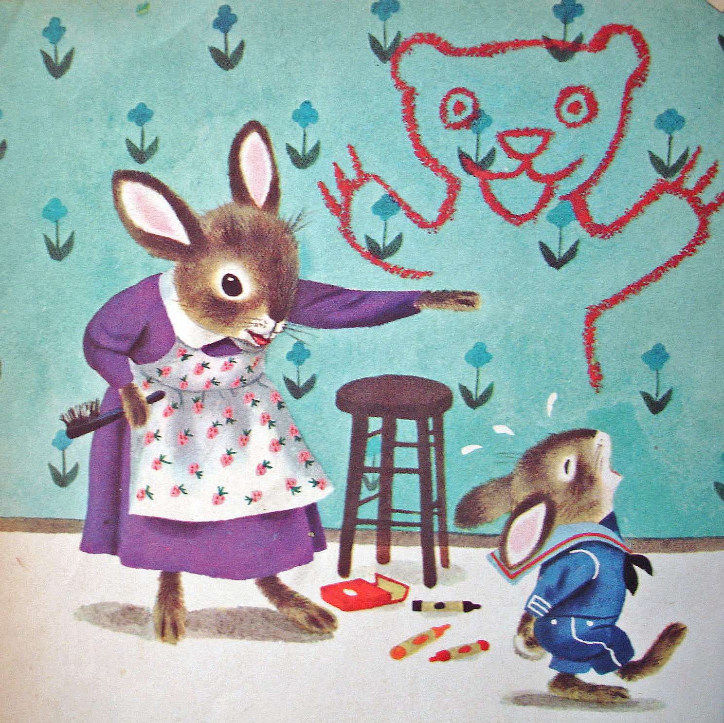 From 'The Naughty Bunny' by Richard Scarry