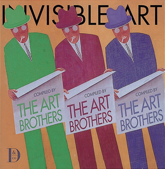 """Invisible Art,"" (1999) by The Art Brothers (Harold Darling (Welleran Poltarnees), Cooper Edens and"