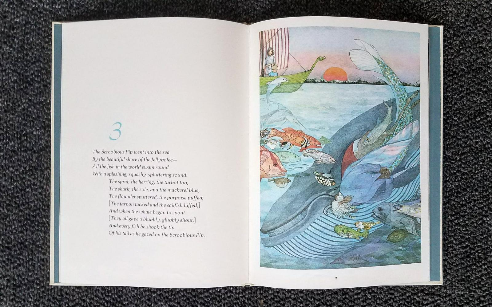 Illustration by Nancy Ekholm Burkert for 'The Scroobius Pip' by Edward Lear