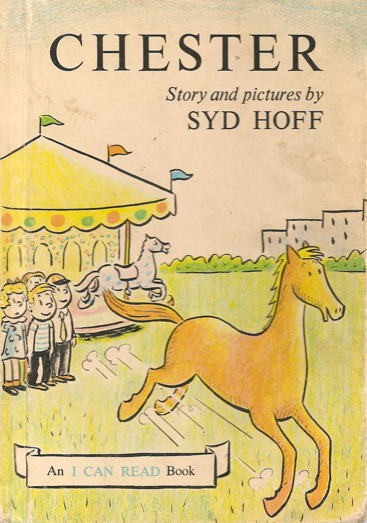 """Chester,"" vintage children's book by Syd Hoff"