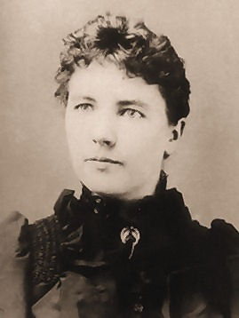 Portrait of Laura Ingalls Wilder