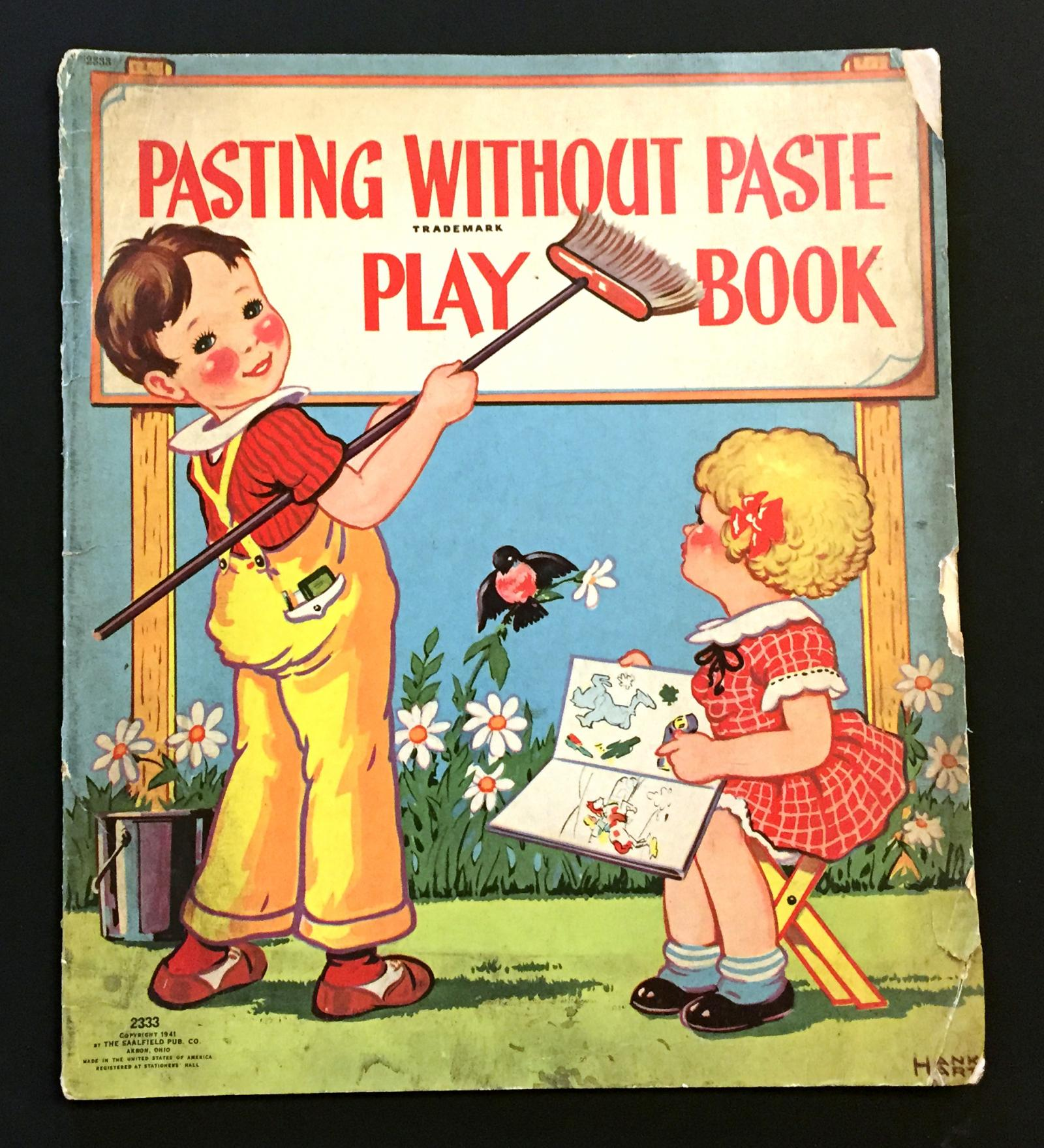 A sticker books from the 1930s, by Hank Hart