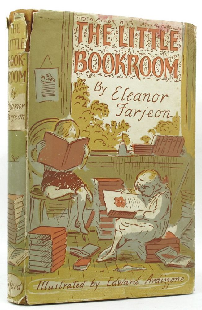Cover Illustration by Edward Ardizzone for 'The Little Bookroom' by Eleanor Farjeon