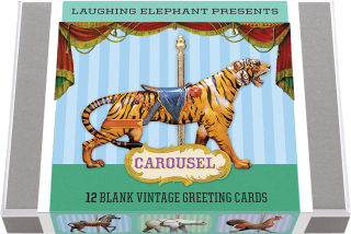 Carousel Animals (Everyday Packaged and Boxed Greeting Cards)