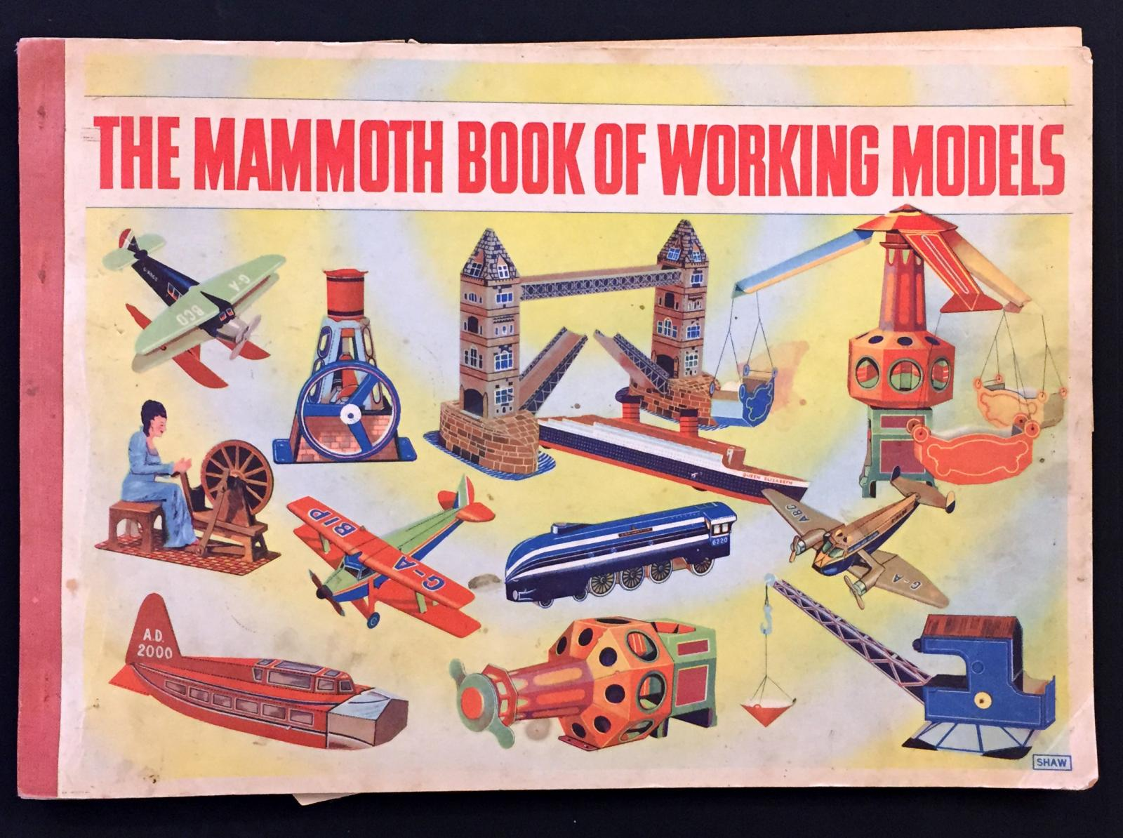 """""""The Mammoth Book of Working Models"""" by C.K.Shaw"""