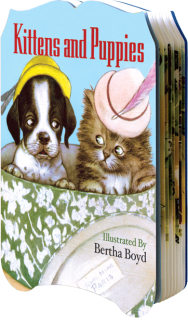Kittens and Puppies (Shaped Children's Books)