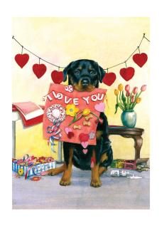 Good Dog Carl's Valentine (Good Dog, Carl Greeting Cards)
