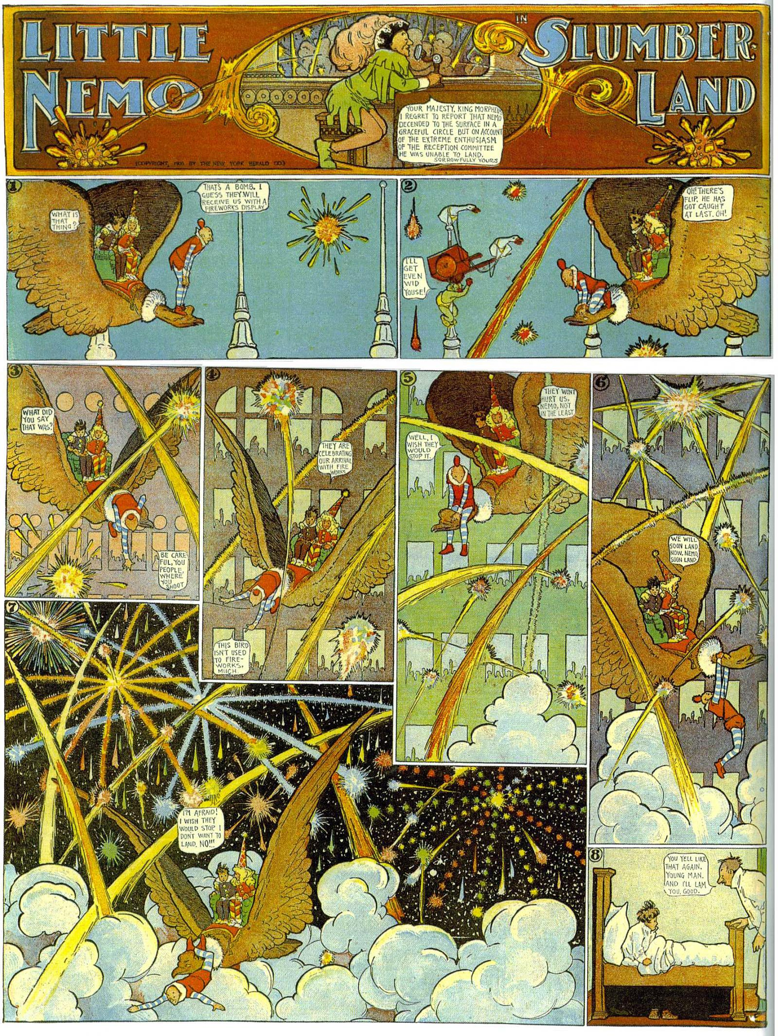 Little Nemo in Slumberland by Winsor McCay