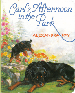 Carl's Afternoon in the Park Board Book (Signed) (Good Dog, Carl Books)