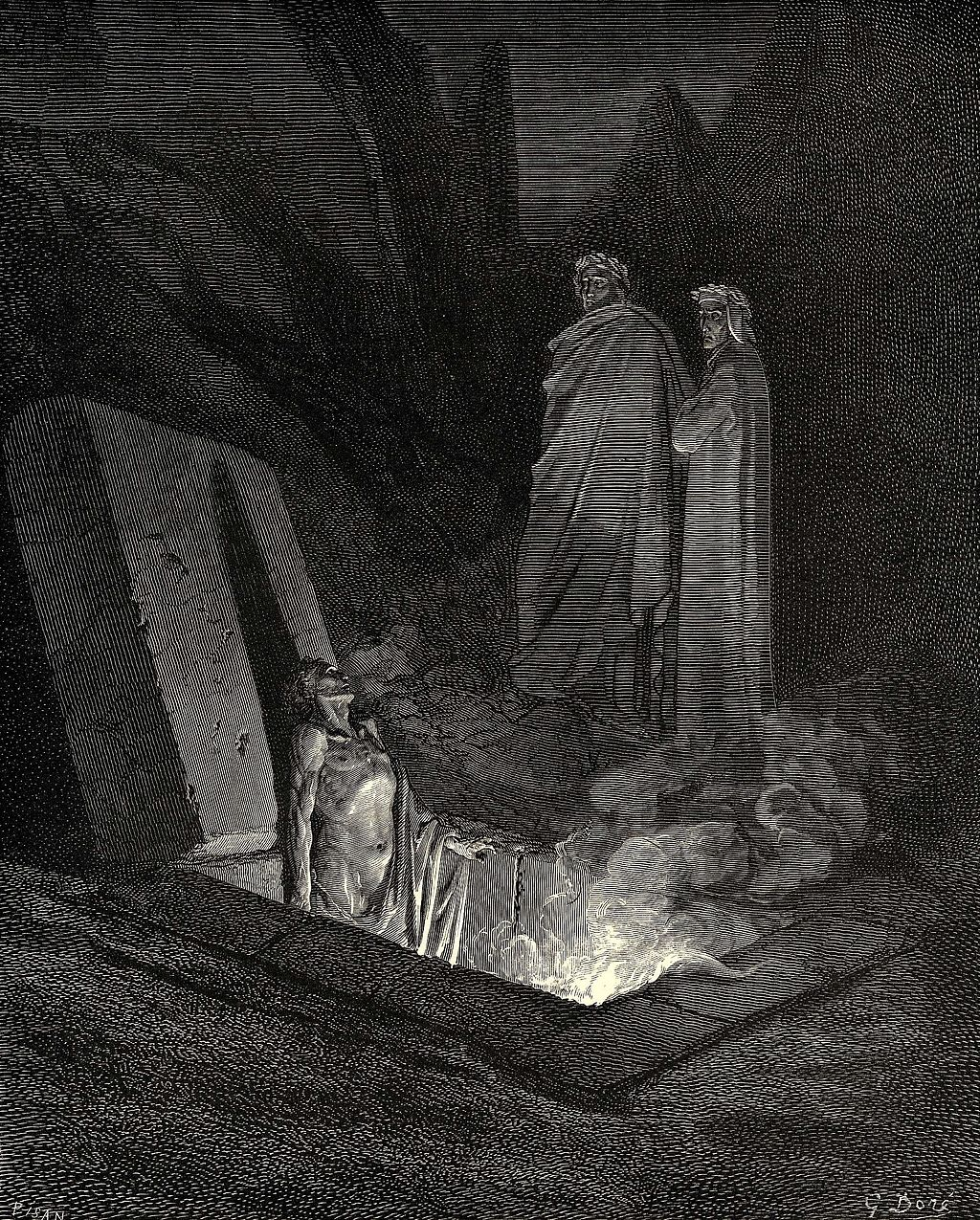 The Eagle, wood engraving by Gustave Doré