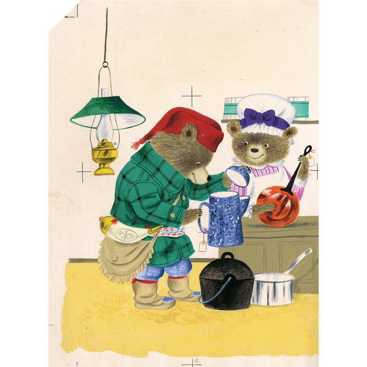 Original painting by Richard Scarry