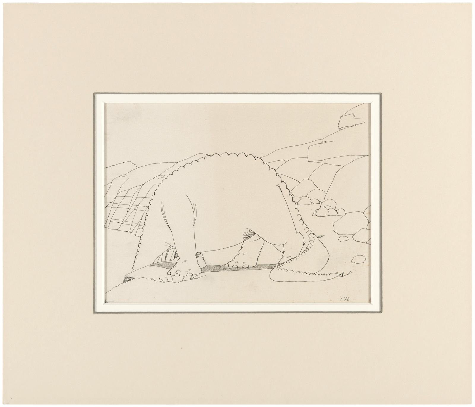 Gertie the Dinosaur, original by Winsor McCay