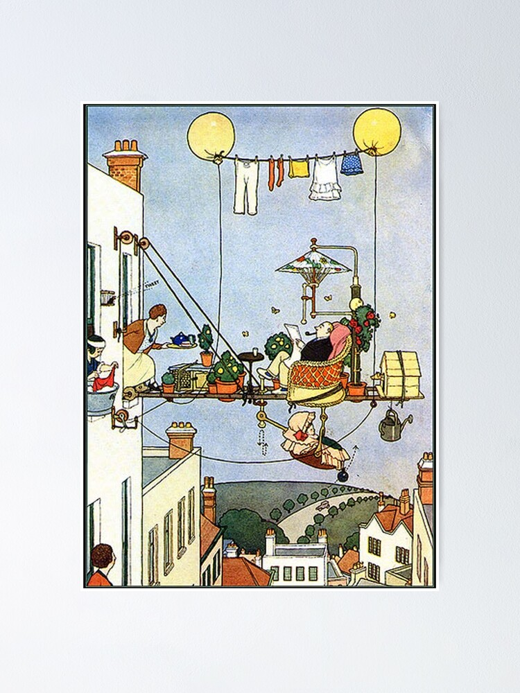 Poster by W. Heath Robinson