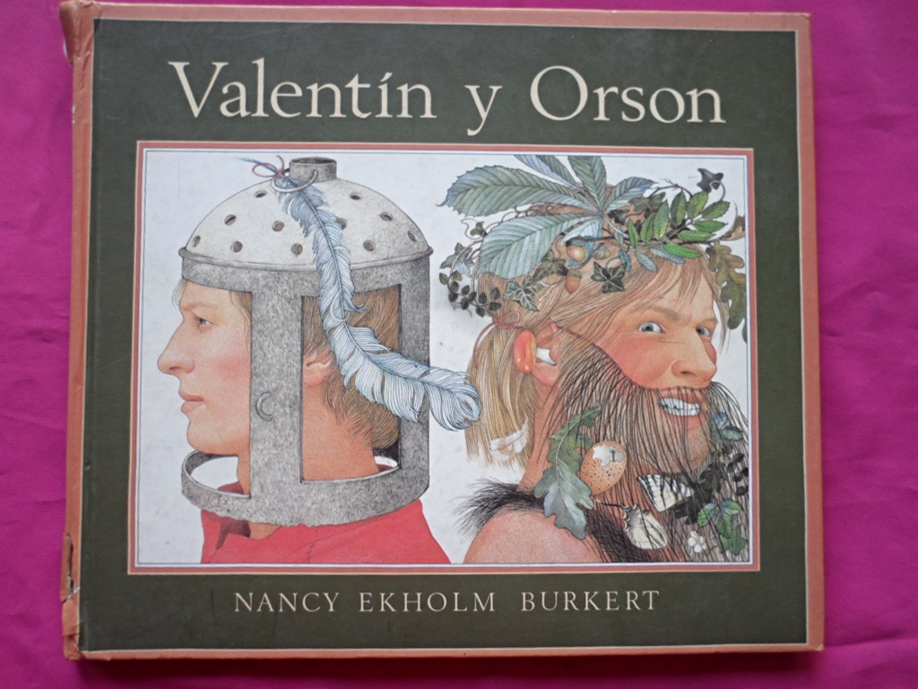 Cover Illustration by Nancy Ekholm Burkert for 'Valentin and Orson'