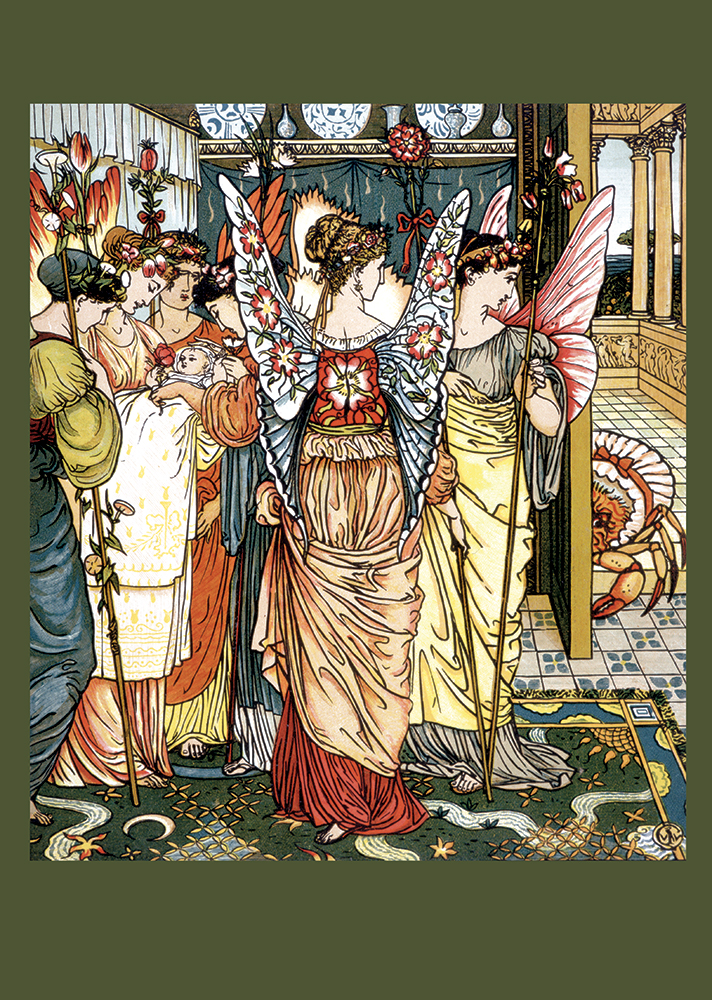 Fairies by Walter Crane