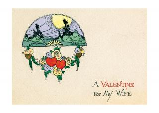 A Valentine For My Wife (Classic Valentine's Day Greeting Cards)