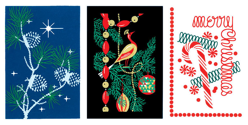3 Christmas cards by Sue Rumley