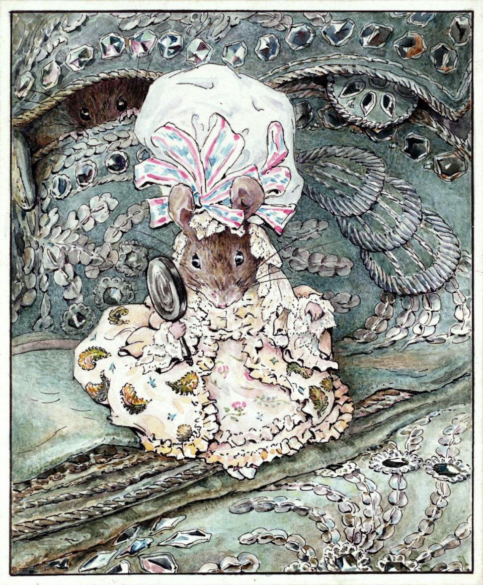 Lady Mouse in a Mobcap, 1902, by Beatrix Potter
