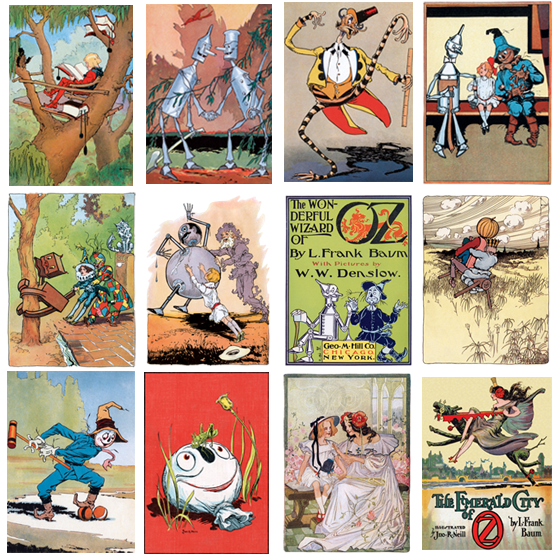A set of Johan R. Neill cards from the Laughing Elephant  Buy the set >