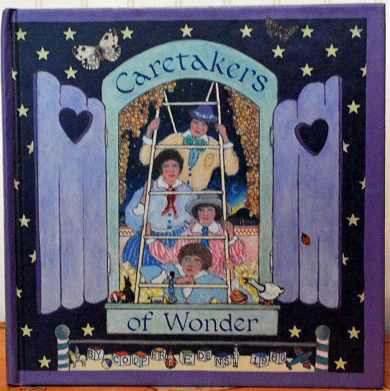 "The Cover of ""Caretakers of Wonder,"" by Cooper Edens"