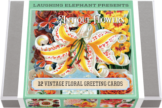Vintage Flowers (Everyday Packaged and Boxed Greeting Cards)
