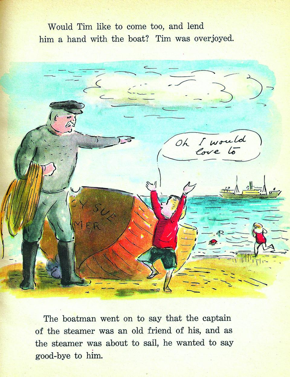 Little Tim and the Brave Sea Captain, 1936, illustrated by Edward Ardizzone