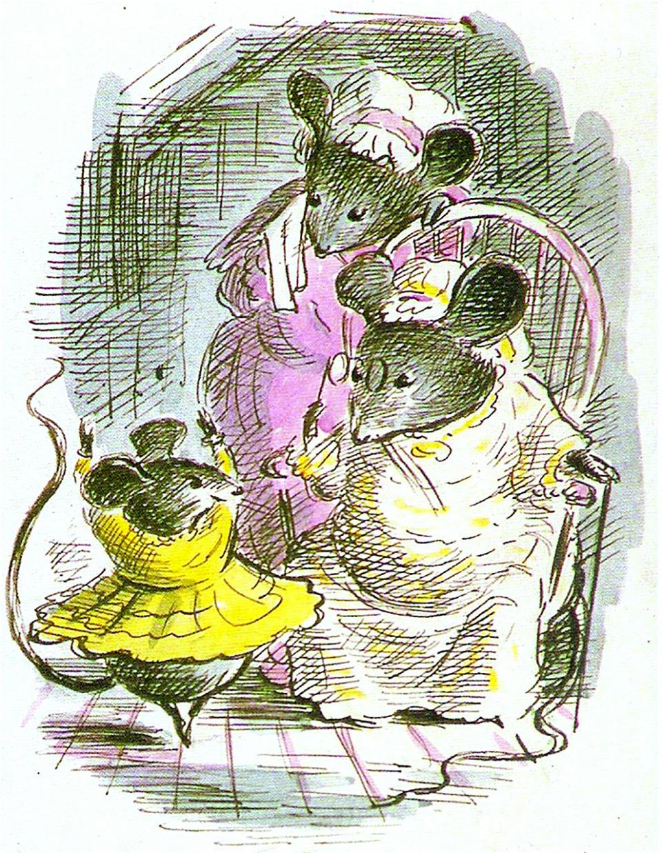 'Desbarollda, the Waltzing Mouse' - Edward Ardizzone (1947)
