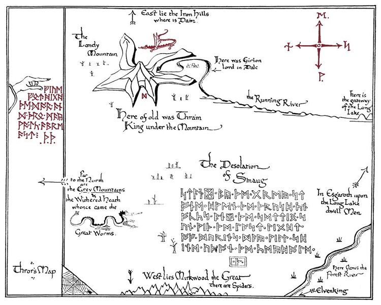 A map for {The Hobbit}
